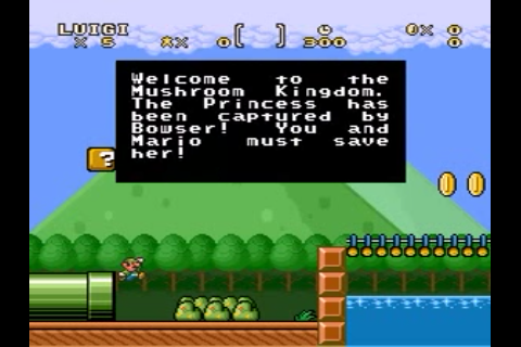 Super Mario World Usa Hack By Pac V1 0 Super Mario Bros The Lost Levels Deluxe Rom Snes Roms Emuparadise